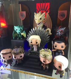 Funkofunatic Game of Thrones Custom Display (credit user: treswright)