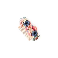 Flowercomb Capri  99.00 Flowercomb »CAPRI« is a handmade design-piece, made out of Marina Hoermanseder original leather-flowers and vintage artificial flowers. Flower Band, Flower Crown, Marina Hoermanseder, Capri, Leather Flowers, Handmade Design, Artificial Flowers, Making Out, Sapphire