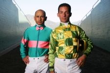 Mike Smith and Aaron Gryder from the TV show 'Jockeys'