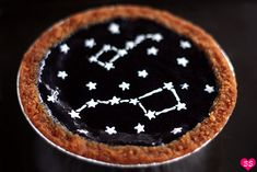 constellation cheesecakes- these look like so much fun!