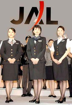 JAL flight attendants everywhere客室乗務員 キャビンアテンダント
