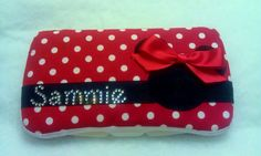 Minnie Mouse Inspired Wipe Case Because EVERYTHING has to be disney!!