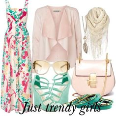how to wear floral maxi dress Maxi dresses in classy style http://www.justtrendygirls.com/maxi-dresses-in-classy-style/