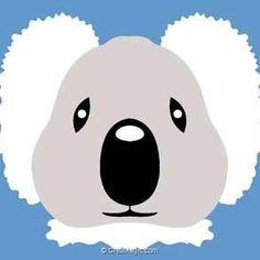 Margot kit canevas avec fils dessine moi un koala