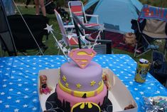 Superhero 4th birthday