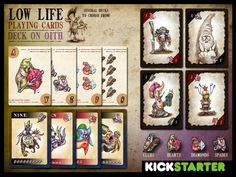 Low Life Playing Cards by Andy Hopp — Kickstarter
