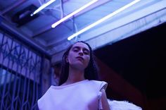 Under Neon Light Portraits – Fubiz™