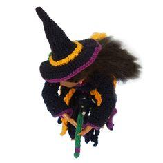 Rebeckah's Treasures: Flying Crochet Barbie Witch ~ Halloween Barbie Costume Pattern