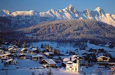 Seefeld, Austria. Just an adorable little ski town by Innsbruck