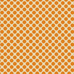 "Anna Griffin - Bat-Tastic Collection - 12""x12"" Glittered Cardstock - Orange Glitter Dots/Ivory"