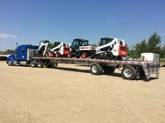 My first flatbed load