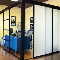 sliding door co office partitions.