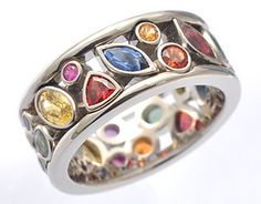 I'm normally not this flashy, but there's something pretty about this ring