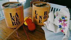 ***Lanero, guardalanas, organizador y guardaagujas. ***Puse en practica esta increíble idea sobre un tacho grande para lanas. ***IDEA, también puede hacerse sobre un tacho mediano o chico para técnicas de crochet o macrame.   #lanero #organizador #lana #tejer #tejidos #crochet #macrame #artesano #artesania #wool #tissue #organizer #craftsman #craft #craftsmanhome
