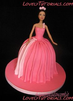 МК Барби кукла торт -Barbie doll cake tutorial - Мастер-классы по украшению тортов Cake Decorating Tutorials (How To's) Tortas Paso a Paso - via http://bit.ly/epinner http://www.lovelytutorials.com/forum/showthread.php?t=404