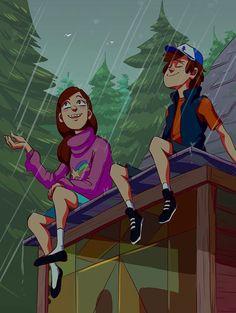 Dipper Pines,Mabel Pines
