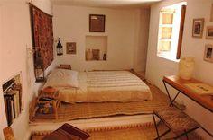la chambre africaine ouverte sur la terrasse - Marie Claire Maison
