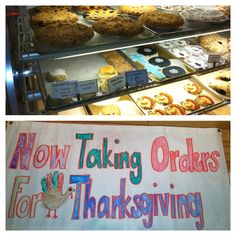 Fresh baked Pies, Cakes, Cookies, Scones, turnovers & more. Place your Thanksgiving order, call732-530-3447