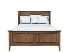 Woodley Brothers Mfg. Woodley Brothers Lynn Bed Queen LYN-LYNBEDRLFB-Q