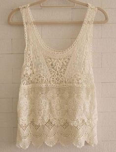 Aliexpress.com : Buy 2014new summer women hand knit crochet tank shirts sleeveless hollow out vintage boho  beach cover up swimwear blouses  from Reliable Tank Tops suppliers on SM store
