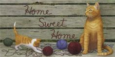 Framed Home Sweet Home Print