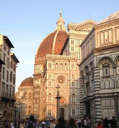 the duomo, climbed to the top of the dome in 2004 (2004 and 2010)