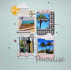 Paradise - Scrapbook.com   PL cards