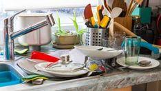 Nämä 6 asiaa saattavat paljastaa ADHD:n aikuisella Dishwasher Detergent, Household Cleaners, Cook At Home, Viria, Adhd, Clean House, Dishes, Cooking, Tableware