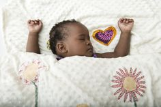 Put your little girl to bed every night under a blanket of flowers with this soft cream minky blanket. #baby #linenlove  #blanket  www.myang.co.za