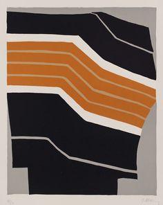 Raoul Ubac -  Stèle - lithographie - 11/50 - 76x56cm