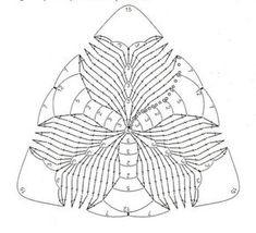 Красивые мотивы для вязания крючком (УЗОРЫ КРЮЧКОМ)   Журнал Вдохновение Рукодельницы