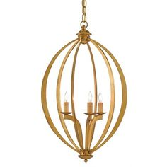 Bella Luna Chandelier | Currey and Company at Lightology