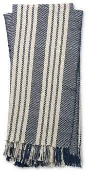 Magnolia Home By Joanna Gaines Magnolia Home by Joanna Gaines Lora Throw Blanket in Navy/Ivory