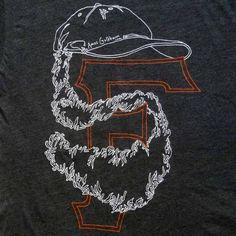 SF Beard Shirt by AmosGoldbaum on Etsy, $25.00