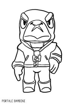 Disegni di Brawl Stars da colorare Star Coloring Pages, Star David, Star Art, Dragon Ball Gt, Aesthetic Anime, Draw, Cartoon, Pictures, Fictional Characters