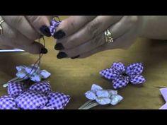 Rosas de tecidos, flores de tecido como fazer - YouTube