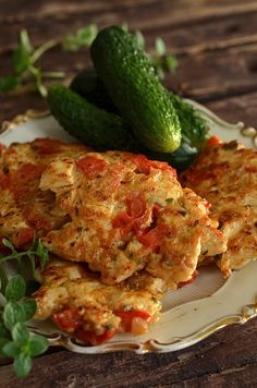 kotlety zkurczaka szarpane Indian Food Recipes, Ethnic Recipes, Chicken Cutlets, Cooking Recipes, Healthy Recipes, Home Food, Vegetable Dishes, Food Design, Tasty Dishes