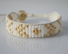 Beaded double wrap bracelet by ZUZILICIOUS on Etsy