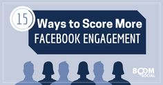 15 Ways to Score More Facebook Engagement - @kimgarst | via @borntobesocial #facebooktips #facebook