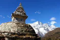 The eyes of Buddha on a stupa. #nepal