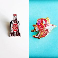 #Repost @crystalgraziano I've got some cute new fan enamel pins I designed up in my store! Check the link in my bio or hit up my Etsy http://ift.tt/2ch2AAo #enamelpin #enamelpins #pingame #pingamestrong #magikarp #pokemon #pokemongo #fallout #nukacola #lapelpin (Posted by https://bbllowwnn.com/) Tap the photo for purchase info. Follow @bbllowwnn on Instagram forgreat pins patches and more!