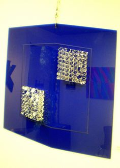 Renato Milo 'Untitled - blue cylinders', 2010, MADI Art Museum and Gallery, Dallas