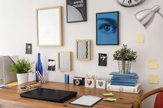 Don't you just breathe easier when looking at a neat, clean, uncluttered space?