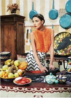 Alina Baikova for Vogue Australia March 2011