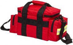 Elite Bags / Emergencys LIGHT BAG Notfalltasche rot Die perfekt kompakte Notfalltasche in der Sie doch alles unterbringen!Rundum gepolstert, mit diversen Fächern und Taschen sowie...