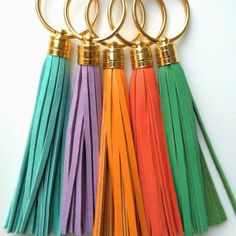 Win a leather tassel keychain and set of hair ties, hosted by Jess at A Few of My Favorite Things http://thehillsarelivin.blogspot.com/