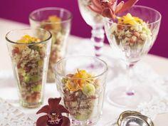 Reissalat auf orientalische Art mit Pistazien ist ein Rezept mit frischen Zutaten aus der Kategorie Reissalat. Probieren Sie dieses und weitere Rezepte von EAT SMARTER!