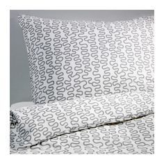 KRÅKRIS Duvet cover and pillowcase(s) IKEA The polyester/cotton blend is easy to care for since the fabric is less liable to shrink and crease.