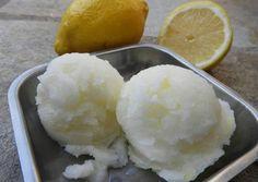 Σορμπέ Λεμόνι 🍋 Mashed Potatoes, Ice Cream, Ethnic Recipes, Desserts, Food, Whipped Potatoes, No Churn Ice Cream, Tailgate Desserts, Deserts