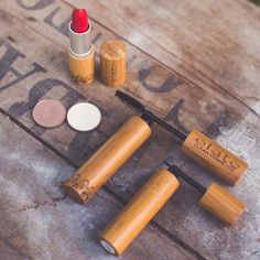 The weekend is here! Our red lipstick Grace paired with soft shadows and our black eyeline and mascara creates a lovely look for date night girls night or a night to yourself!  photo by Elate Artist and photographer @chelseadawn_weddings